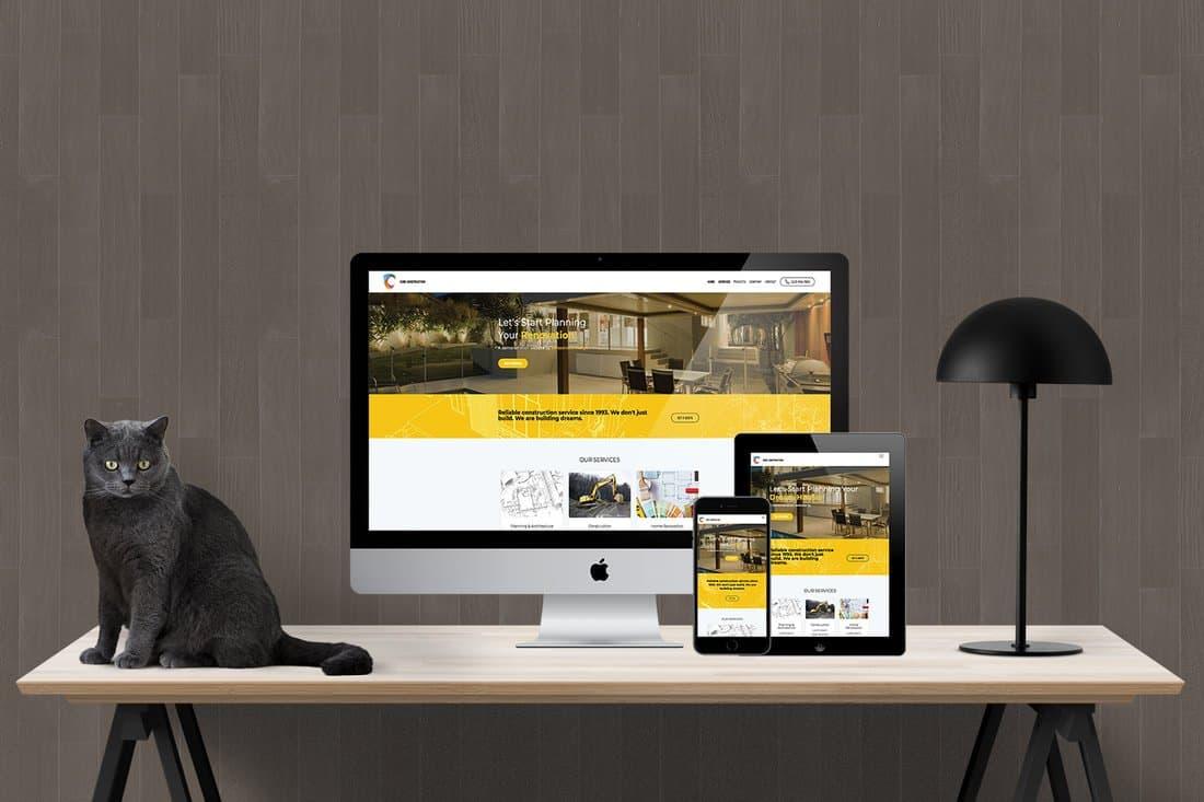 Contractor Website Demo