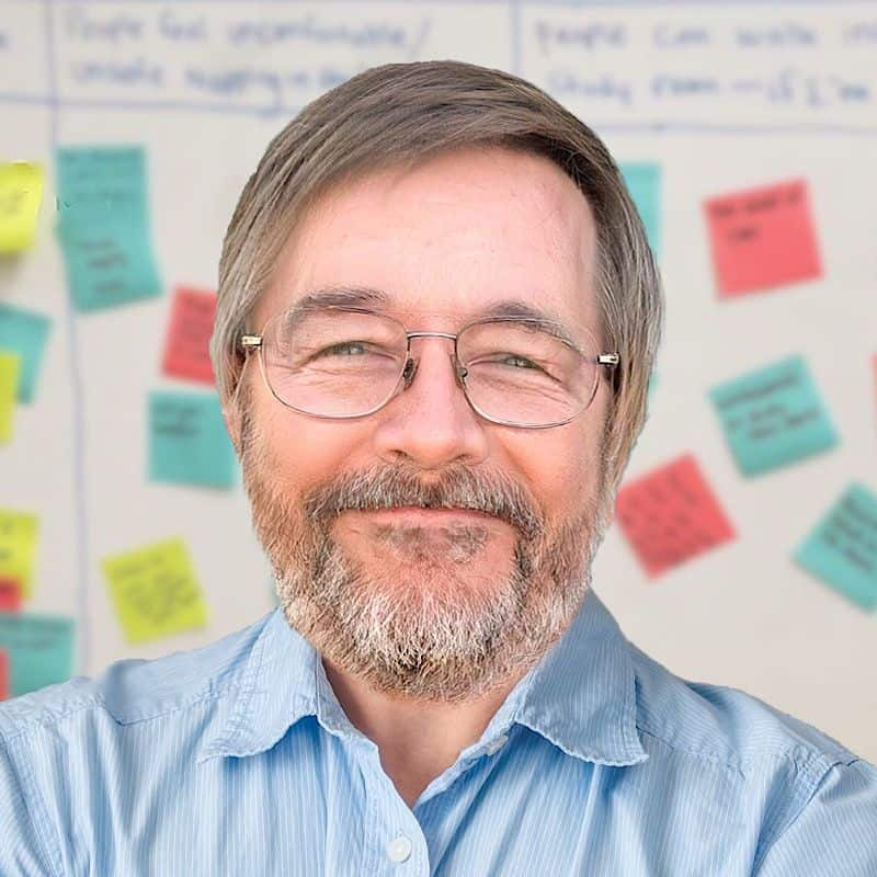 A photo of Nerdsy Solution's VP Jim Humpf