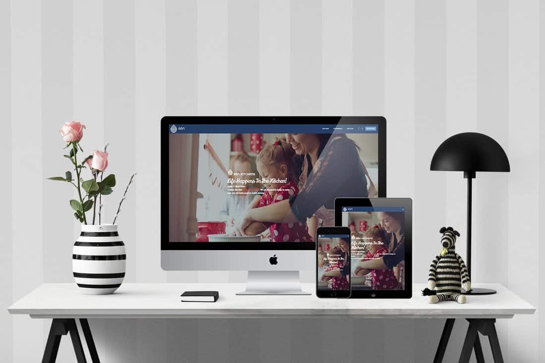 Kitchen Contractor Website Demo