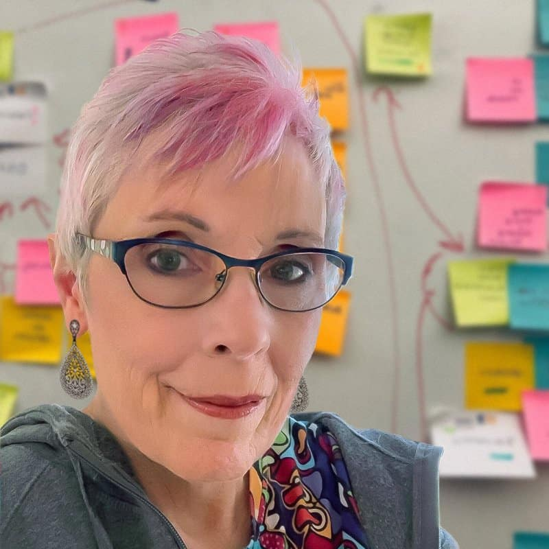 A photo of Nerdsy Solutions owner Nancy Aurand