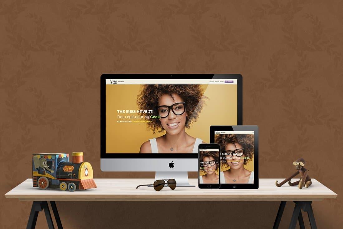 Eye Doctor Website Demo